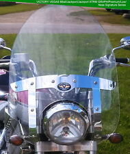 """VICTORY VEGAS SIGNATURE SERIES 2003-2010 22"""" x 24"""" CLEAR REPLACEMENT WINDSHIELD"""