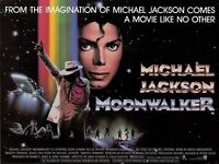 Moonwalker movie poster print - Michael Jackson poster - 12 x 16 inches