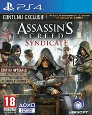 Assassin's Creed Syndicate Edition Spéciale Jeu Ps4 Ubisoft