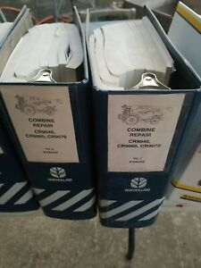New Holland CR9040 CR9060 CR9070  Combine Factory Service Repair Manual