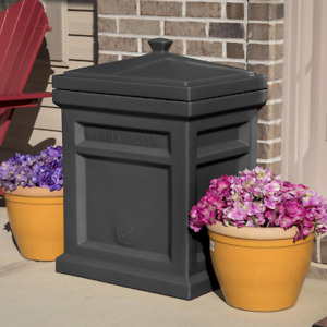 Package Delivery Box Drop Container Outdoor Porch Bin Safe USPS UPS FedEx Parcel