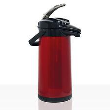 Bonamat Isokanne Airpot Furento Kunststoffmantel rot 2 2 Liter