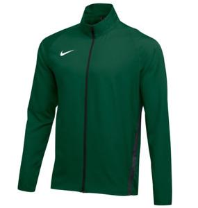 Nike Mens Dri-Fit Team Woven Jacket Dark Green AJ3372-361 Size S M L
