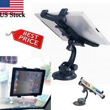 Universal Car Windshield Mount Holder Stand For iPad 2/3/4/5 Galaxy Tablet US