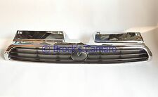 96-97 SUBARU LEGACY OUTBACK FRONT GRILLE BLACK / CHROME NEW REPLACEMENT