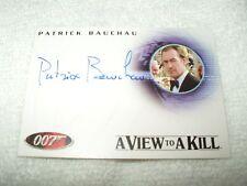 james bond film autogrammkarte patrick bauchau als scarpine a93 a view to a kill
