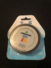 Rare 2010 Vancouver Olympic Hockey Souvenir Hockey Puck New In Box Gold Medal