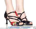 Ladies Ballroom Latin Rumba Samba Tango Salsa Dance Shoes US5-9 Women Heels Shoe