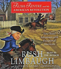 NEW Rush Revere and the American Revolution Audio Book 5 CDs Limbaugh Kathryn