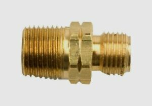 """Mr. Heater LEFT HAND MALE Propane Fitting Gas Connector 3/8"""" MPT X 9/16"""" F276153"""