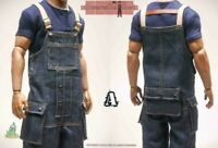 """1:6 Scale CUKE TOYS MA-013A Overalls Set Model Toy Fit 12""""PH TBL Male Body"""