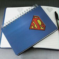 DC Comics Superman Notebook Journal Diary - 200 Spiral Bound Lined Pages