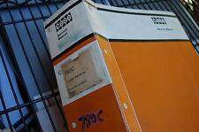 CASE 780C BACKHOE LOADER Repair Shop Service Manual book overhaul 1986 owner