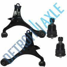 New (2) Front Lower Control Arm + (2) Lower Ball Joint Kit for Honda Civic Acura