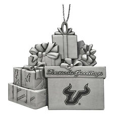 University of South Florida - Pewter Gift Package Ornament