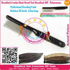 Professional Dreading Comb Brand New Dread Comb Make Maintenance Dreadlocks Hair
