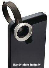 Handy Linse SET camlink Makro-Objektiv + Fischauge + Weitwinkel Mobile Lens Kit