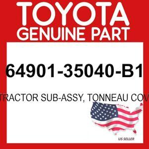 TOYOTA GENUINE 64901-35040-B1 RETRACTOR SUB-ASSY, TONNEAU COVER OEM
