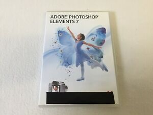 Ado be Photoshop Elements 7  Windows Boxed Includes Product License key