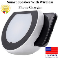 TECHSAFE Portable Bluetooth Speaker with iQ Wireless Phone Charging Dock Stand