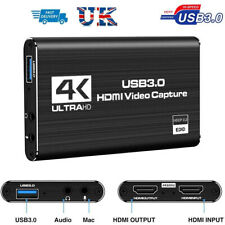 4K HD 1080P 60fp HDMI Video Capture Card USB3.0 Game Record Video Live Streaming