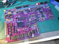 Amiga A500++ PCB with components for A500 Plus board replacement