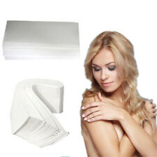 100pcs  Depilatory Wax Strips Epilator Waxing Tools Non-woven Hair Removal Paper
