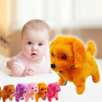 Robotic Electronic Walking Pet Dog Toys Music Light Cute Puppy Kids  Baby Toys