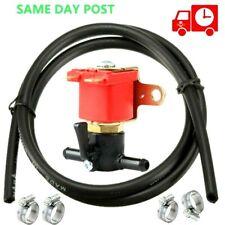 12v Anti Theft Solenoid Valve fuel Cut Off SHUT OFF+2 metres petrol diesel pipe