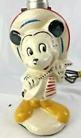 VINTAGE DISNEY LAMP WALT DISNEY PRODUCTIONS Mickey Mouse  RARE  1930'S-1940'S