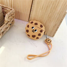 New listing Cartoon Chocolate Cookies Biscuit Silicone Protective Case For Apple Airpods oe