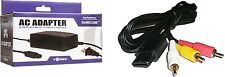 AC ADAPTER POWER SUPPLY & AV CABLE CORD FOR NINTENDO GAMECUBE BUNDLE (BRAND NEW)
