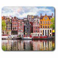 Computer Mouse Mat - River Amstel Amsterdam Netherlands Office Gift #16600