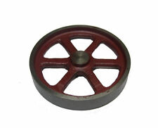 """RDGTOOLS STEAM ENGINE 4"""" FLYWHEEL MACHINED CASTING COMPATIBLE WITH STUART"""
