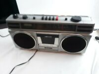 Vintage Sanyo M9706 Ghettoblaster Boombox Radio Cassette Recorder Stereo parts
