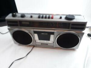 Vintage Sanyo M9706 Ghettoblaster Boombox Radio Cassette Recorder Stereo parts