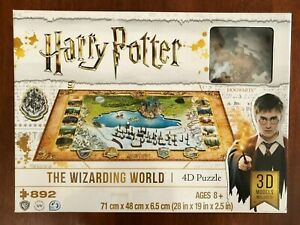 Harry Potter Cityscape 4D Jigsaw puzzle - The Wizarding World - 892 pieces