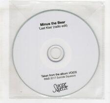 (IG778) Minus The Bear, Last Kiss - 2017 DJ CD
