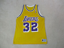 VINTAGE Champion Magic Johnson Los Angeles Lakers Jersey Adult Extra Large 90s