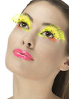 80s Polka Dot Eyelashes, Neon Yellow, Contains Glue (UK IMPORT) COST-ACC NEW