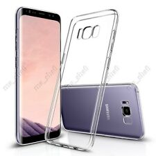 Slim Clear Soft TPU Protective Back Cover Skin Case Protector for All Smartphone
