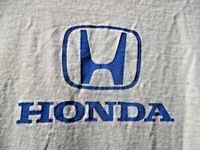 HONDA T-shirt  BLUE Logo tshirt XL  Race Motocross CBR VTEC
