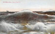 US N.J. Surf After a Storm Atlantic City, Rough Sea