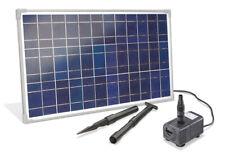 Solar Bachlaufpumpe 25W 1600 l/h Solarpumpe Wasserfall Solar Teich esotec 101018