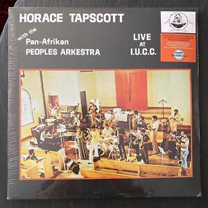 HORACE TAPSCOTT PAN AFRIKAN PEOPLES ORCHESTRA - LIVE AT I.U.C.C. SEAELD VINYL LP