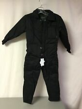 NWT Boy's PWT Pre-School Snowsuit Size Large (6) Black #750Z