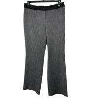 Ann Taylor LOFT Julie Dress Pants Womens Size 10 Gray Straight Leg Trouser