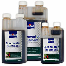 Bermuda Greenwater Pond Treatment Algae Clear Green Cloudy Clean Water Fish Koi