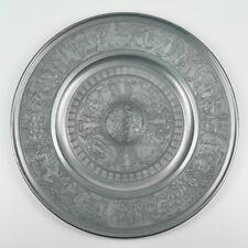 Berendsohn Zinnteller - Durchmesser 39,6cm - Temperantia - 1,3kg - tin plate