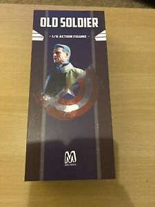 Old Soldier Captain America Endgame 1:6 Scale Articulated Figure (nt hot Toys)
